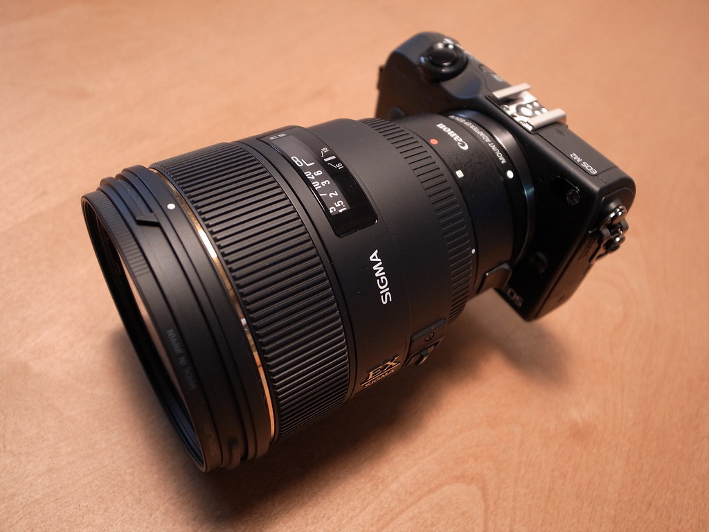 Taken With Sigma 85mm 1 4 F 14 Ex Dg Hsm For Nikon Canon Eos M2 Ef M F14 Flickr