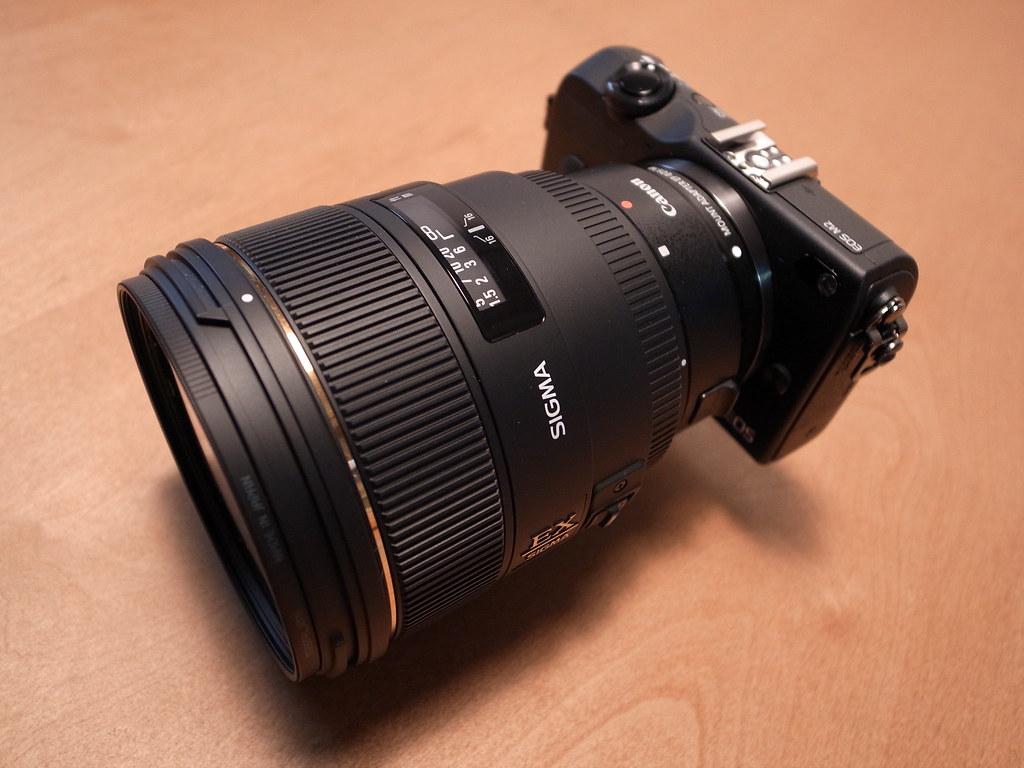 Taken With Sigma 85mm 1 4 F 14 Ex Dg Hsm Nikon Canon Eos M2 Ef M F14 Flickr