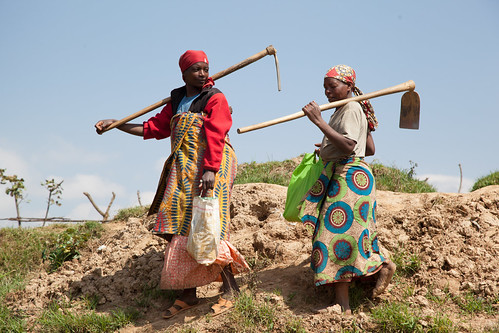 Women create terraces | by World Bank Photo Collection