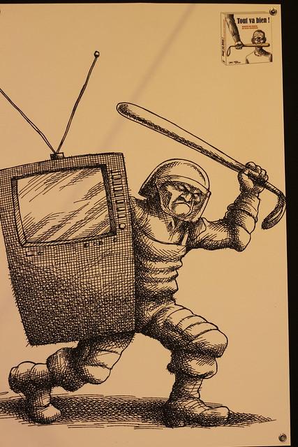 Tout va bien, Mana Neyestani - Salon du Livre de Paris 2015