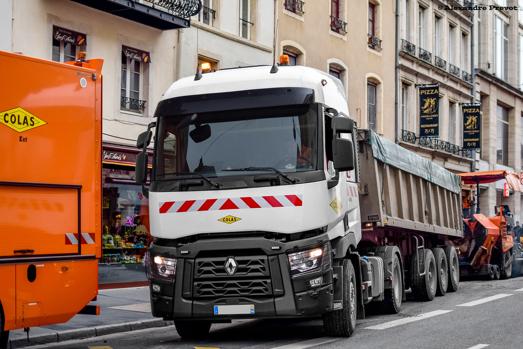 Renault trucks c 480 travaux de voirie rue saint dizier for Photos de photos