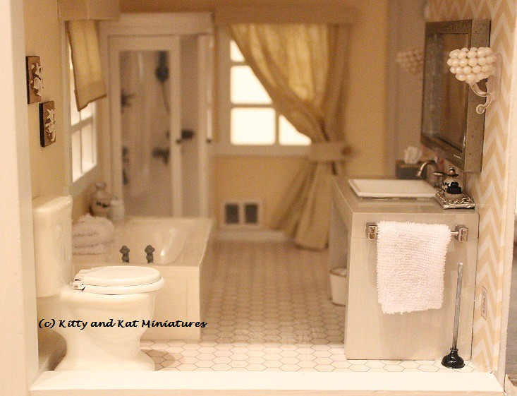 Bathroom Modern Bathroom 1 12 Scale A Redo Of A