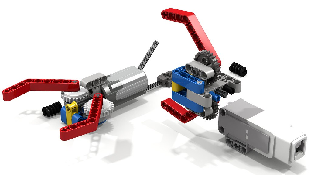 Simple Lego Grabber Claw Gripper This Simple Lego