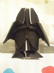 Origami Darth Vader Helmet I Created This Model For May The 4th STAR WARS Day