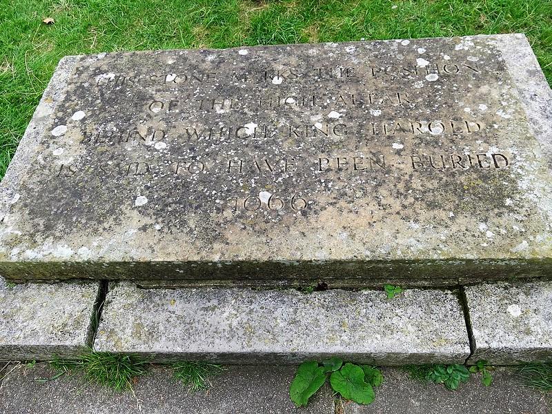 King Harald's Tomb Waltham Abbey 15.07.2016