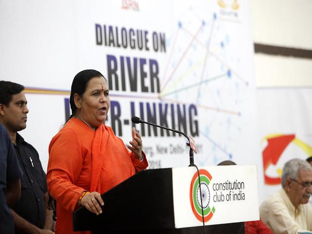 केन्द्रीय जल संसाधन, नदी विकास और गंगा संरक्षण मंत्री उमा भारती