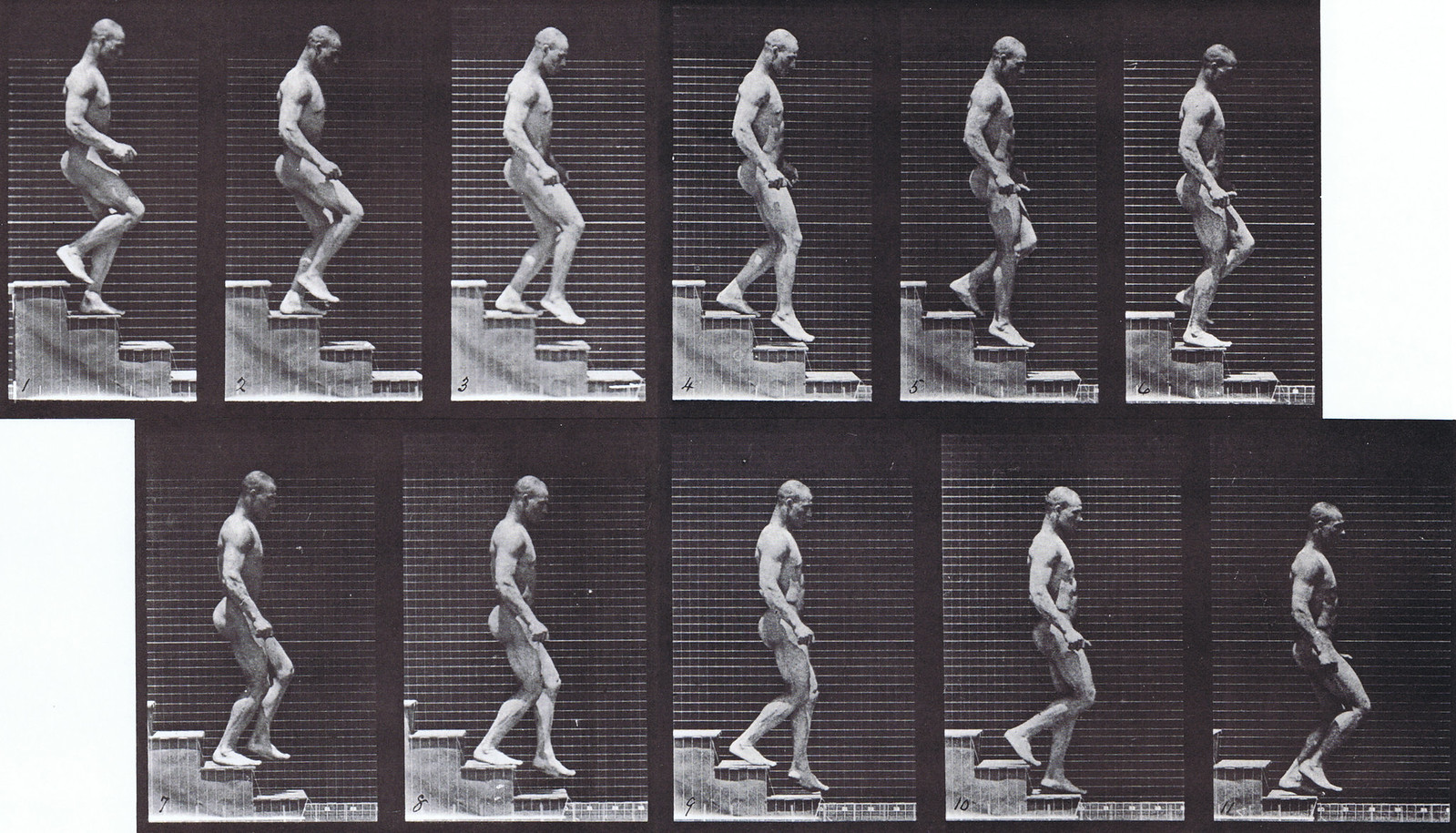 Walking Down Stairs Animation