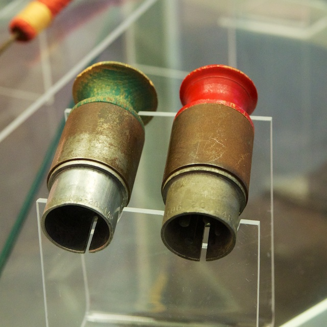 """Little Boy"" Atomic Bomb Arming Plugs"