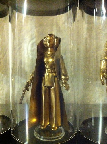 Vintage Star Wars Action Figures 24KT Gold Edition Princess Leia