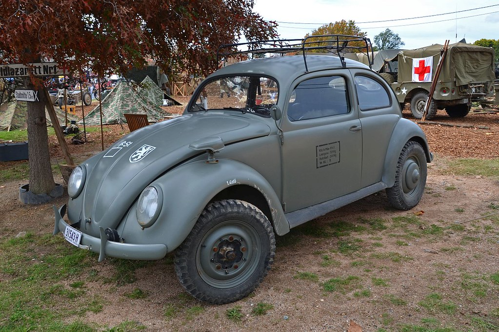 Type 82E—Kübelwagen chassis / Beetle body | Although Adolf ...