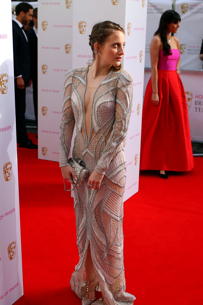 BAFTA Red Carpet 2015 (29)