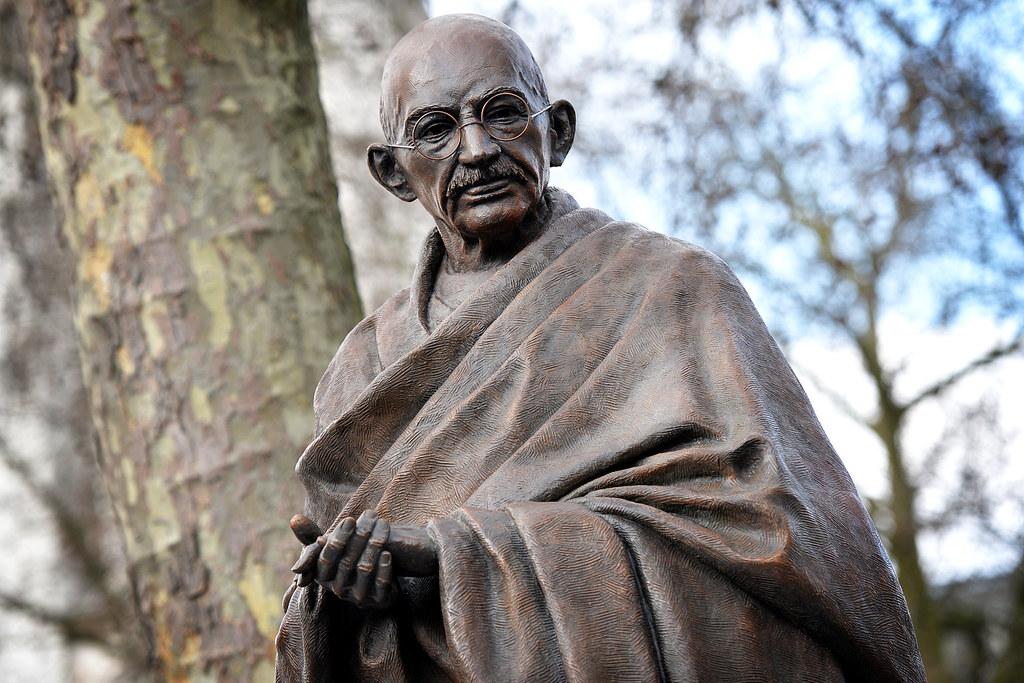 Pm Unveils Mahatma Gandhi Statue In London Today David