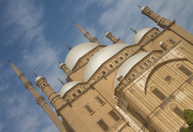 Mohammed Ali Mosque (the Alabaster Mosque), Cairo, Egypt