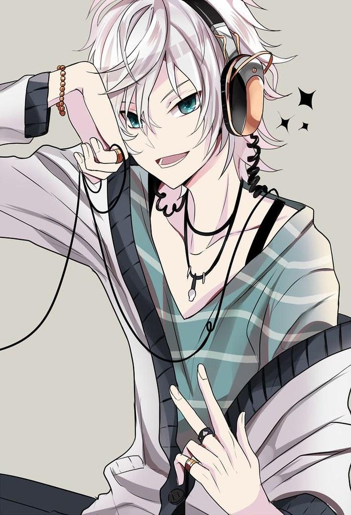 Anime Guy Headphones Wallpaper Cool Desktop