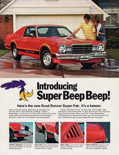 Road Runner Auto Sales >> 1976 Plymouth Volare Road Runner Super Pak | Retail price ...