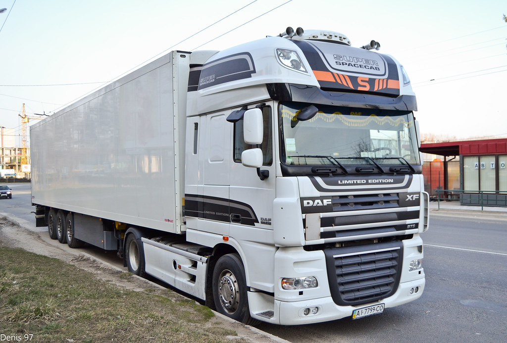 Daf XF105510 SSC Limited Edition Sintez (UA)  Denis 97