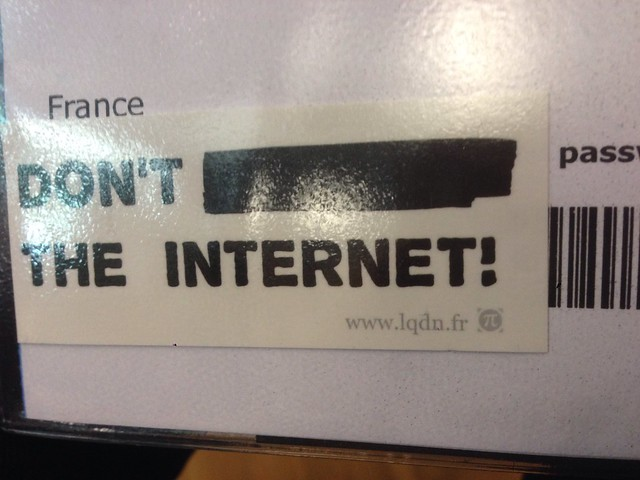 Don't *** the Internet ! - La Quadrature du Net, IFLA 2014