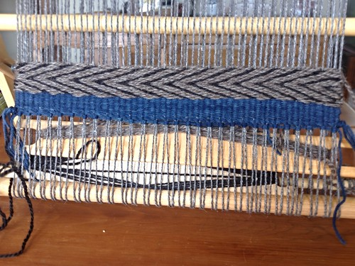 Schacht Tapestry Loom: First Weaving | by Twill Power