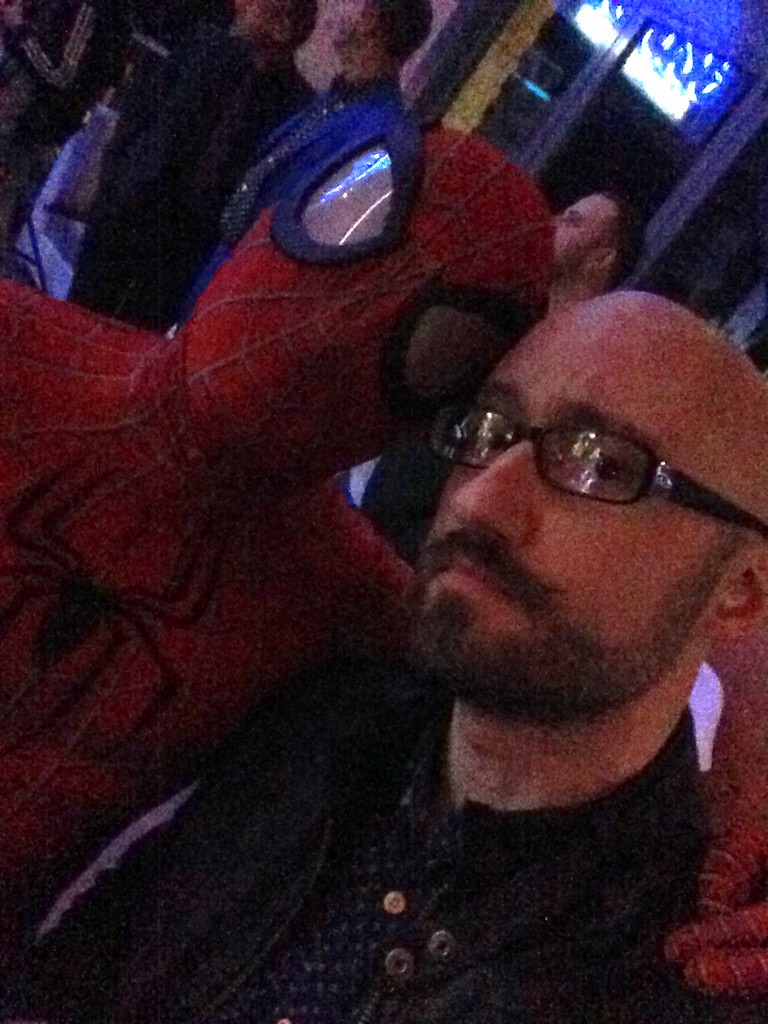 Blackpool Comic-Con Launch Party - Killer Kitsch and Spider-Man