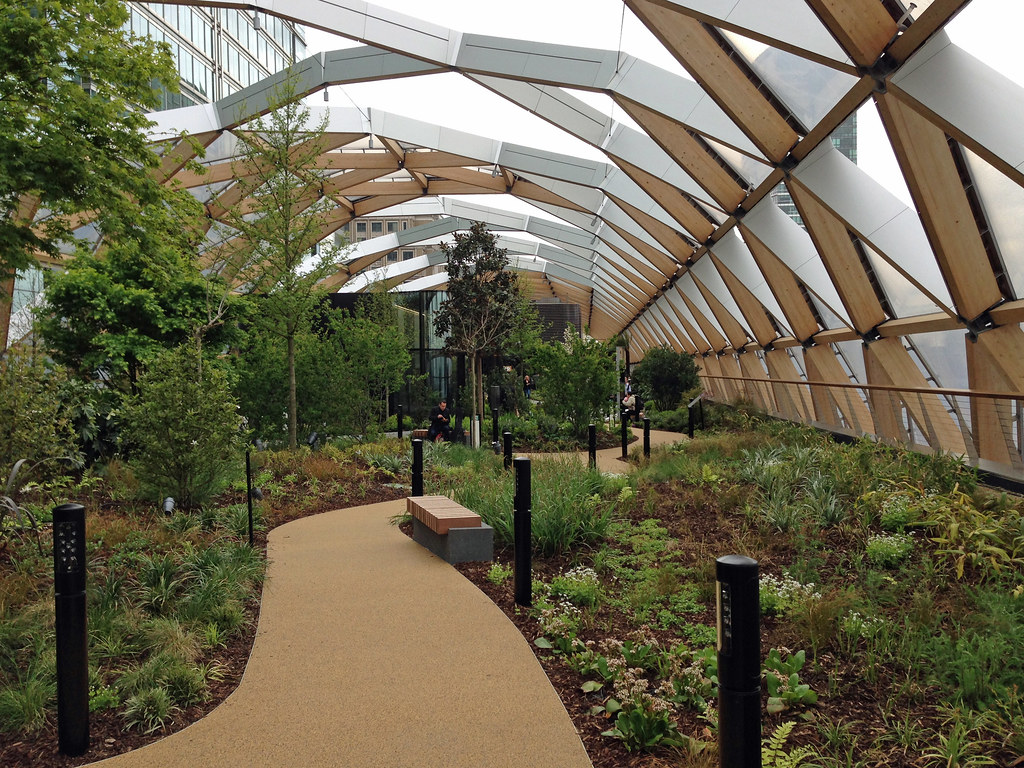 Crossrail Place Roof Garden E Plants From The Eastern