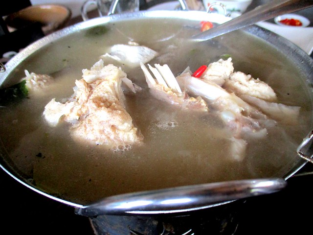 Flavours Thai Kitchen white tom yam fish soup 1