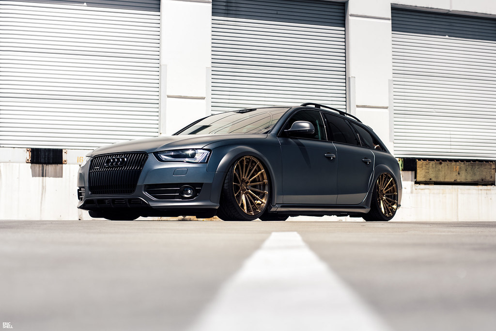 Evans b8 audi allroad on accuair e level air suspension flickr evans b8 audi allroad on accuair e level air suspension by eric shell sciox Gallery