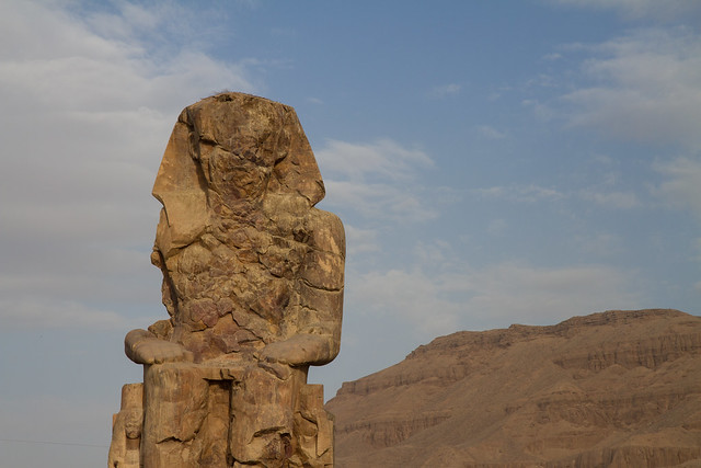 Colossi of Memnon (Amenhotep III), Luxor, Egypt