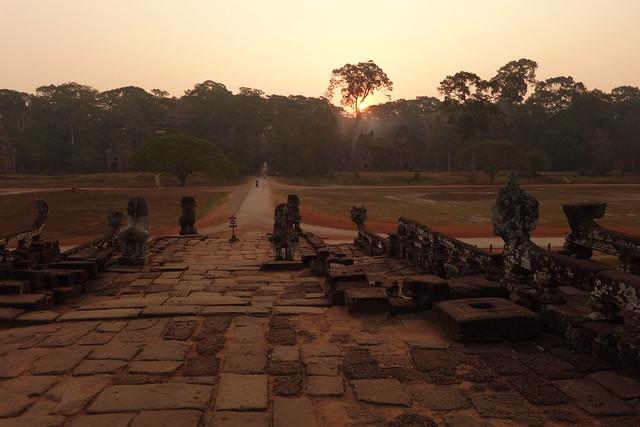La terrasse des éléphants / Temples d'Angkor