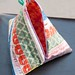 Selvage Triangle Zipper Pouch