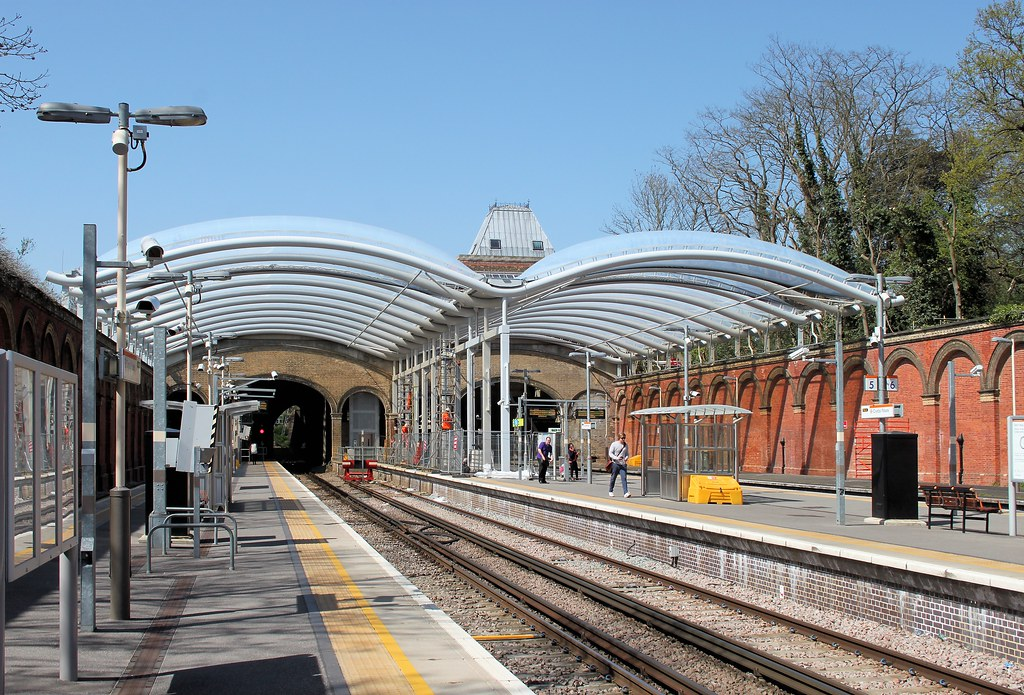 Crystal Palace Overground Station New Overall Roof