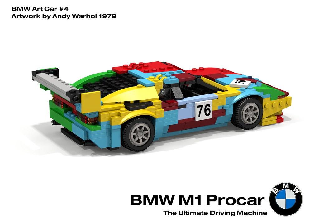 Bmw M1 Procar Racer Bmw Art Car 4 Andy Warhol 1979