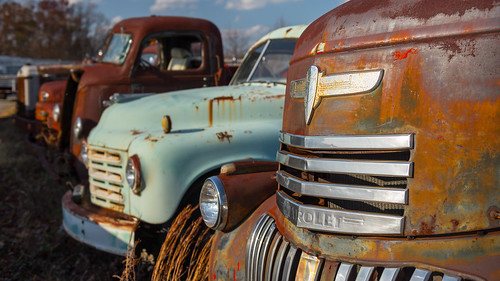 Antique Truck Graveyard | by eddit