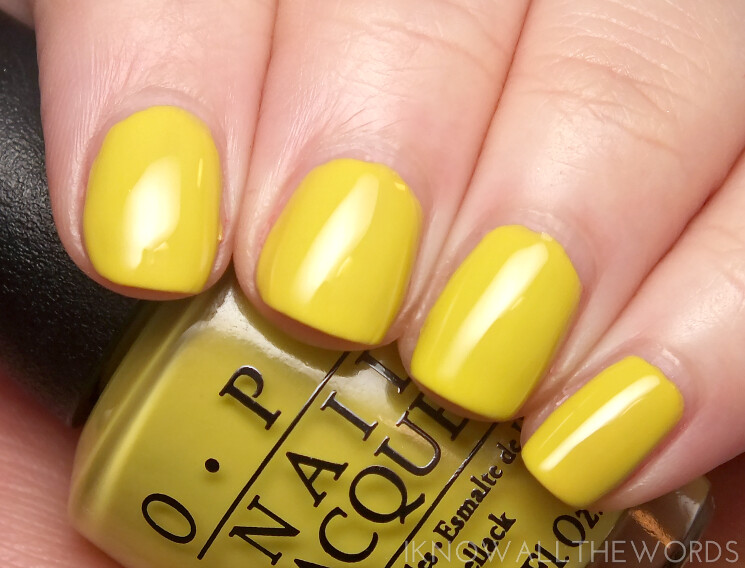 brights by opi 2015 life gave me lemons