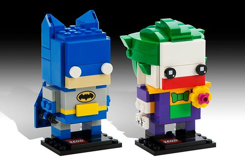 LEGO DC BrickHeadz Batman & Joker