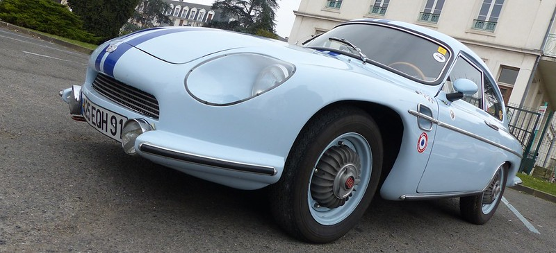 "Berlinette Panhard Charles Deutsch & René Bonnet 1961 ""Tigre 850 CC""  16797903126_143eb02f67_c"