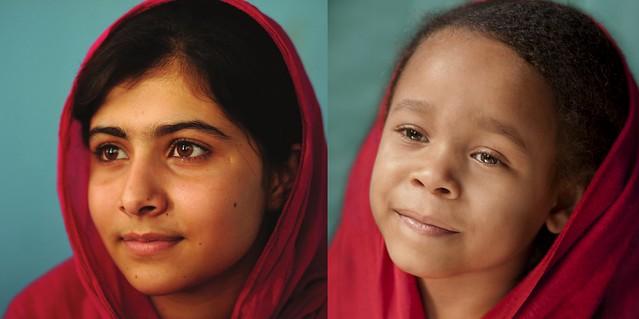 Lily as Malala