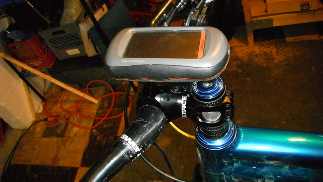 Rec Mounts bike mount for Garmin Oregon 450