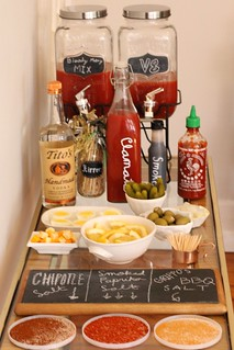 Bloody Mary Bar | by Célèste of Fashion is Evolution