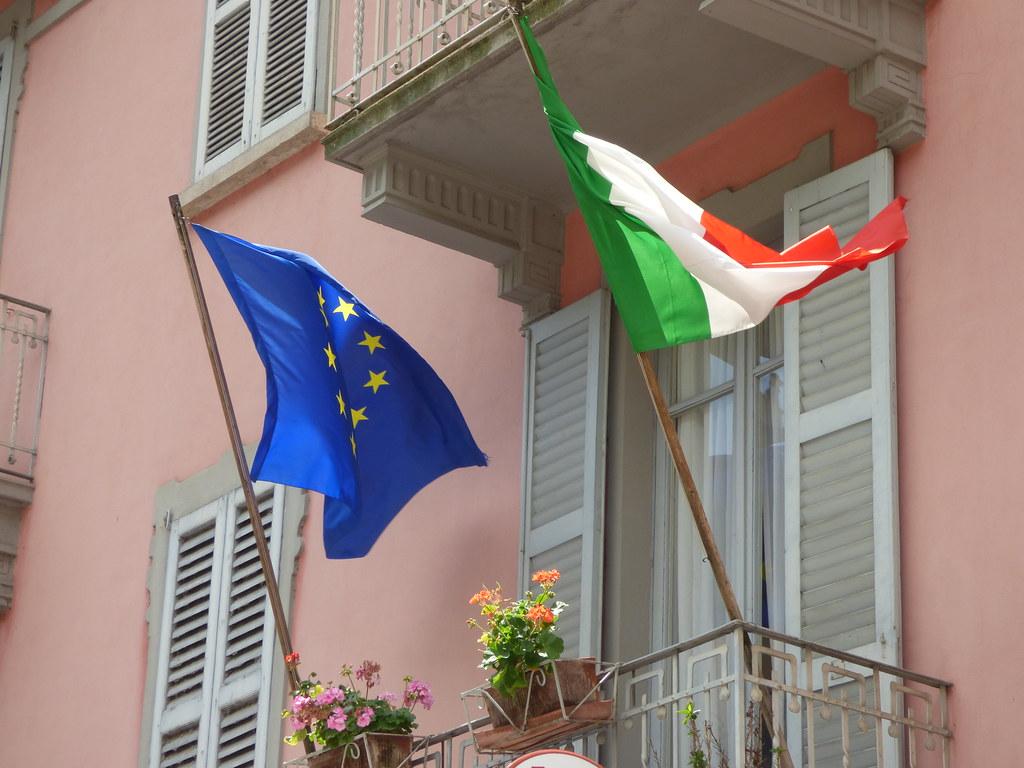 Image result for italy eu flag