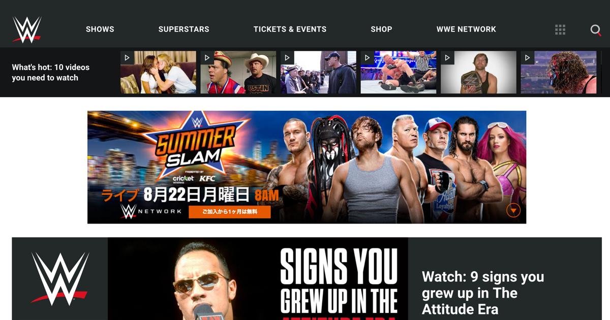 WWEがWorldWishDayに行った取り組みが面白いのにその後が…
