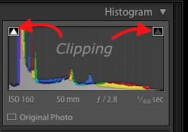 Clipping, Histogram, Lightroom Tutorial for Food photos, Lightroom tutorial, Editing RAW files in Lightroom,  Lightroom Food Tutorial, How to edit food photos in Lightroom,