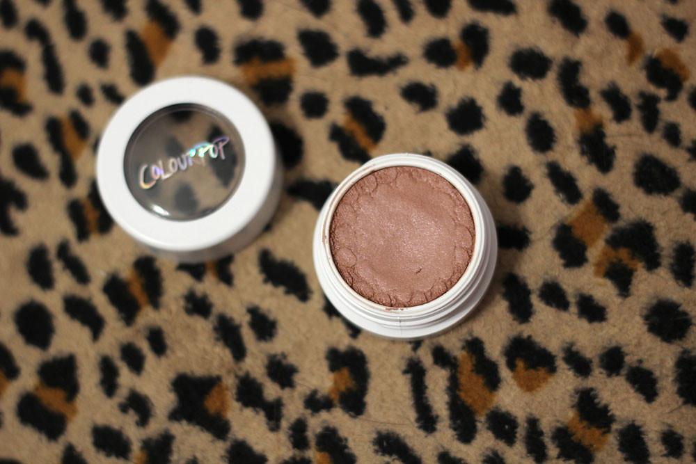 Colourpop Cream Powder Eyeshadow in Wattles Spring 2016 Collection