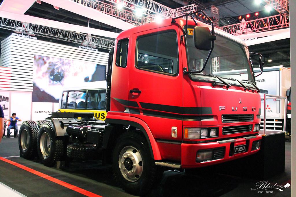 Mitsubishi Fuso Super Great Fv Tractor Head Date Taken