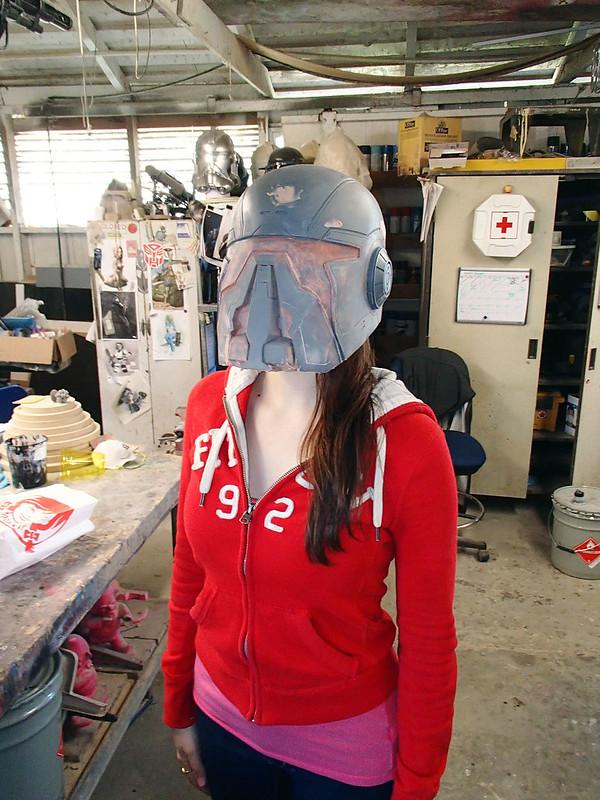 Shae Helmet Test Fit