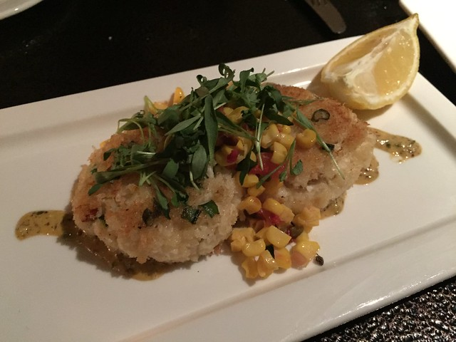 Dungeness crab cakes - Leatherneck Steakhouse