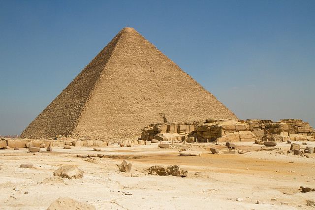 Great Pyramid of Khufu (Cheops), Giza, Egypt