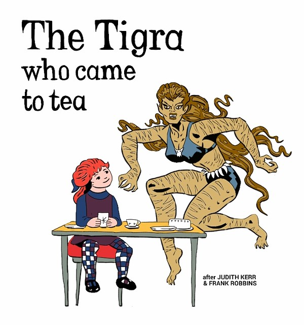 the TIGRA who came to tea