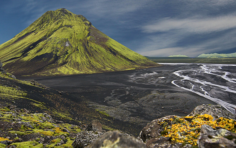 Mt. Mælifell and Brennivínskvísl River - Iceland