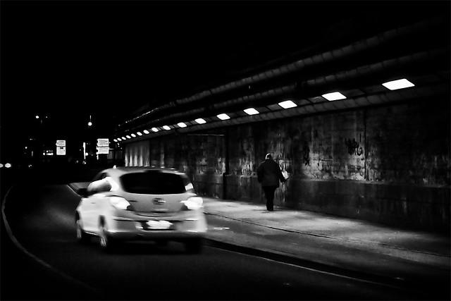 Begegnung im Tunnel