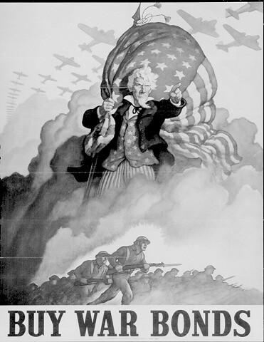World War II Posters - Buy War Bonds